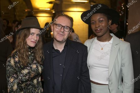 Katie Brayben (Elizabeth Laine), Conor McPherson (Author/Director) and Gloria Obianyo (Marianne)