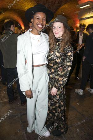 Stock Image of Gloria Obianyo (Marianne) and Katie Brayben (Elizabeth Laine)