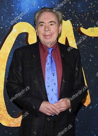 """Sir Andrew Lloyd Webber attends the world premiere of """"Cats"""" at Alice Tully Hall, in New York"""