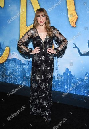 """Stock Picture of Emma Myles attends the world premiere of """"Cats"""" at Alice Tully Hall, in New York"""
