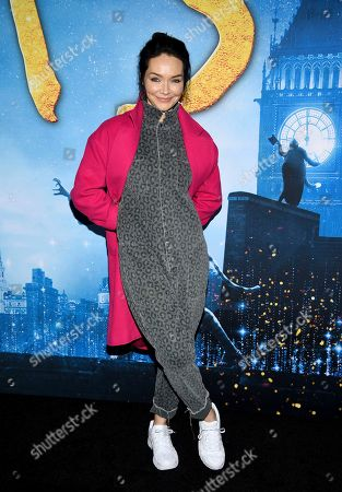 "Stock Picture of Katrina Lenk attends the world premiere of ""Cats"" at Alice Tully Hall, in New York"