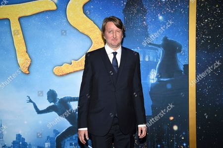 "Tom Hooper attends the world premiere of ""Cats"" at Alice Tully Hall, in New York"