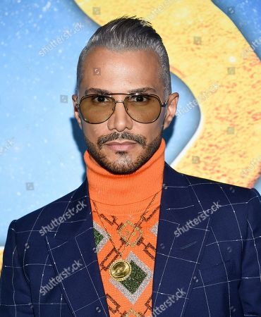 """Stock Picture of Jay Manuel attends the world premiere of """"Cats"""" at Alice Tully Hall, in New York"""