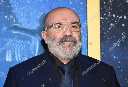 "Stock Photo of Paco Delgado attends the world premiere of ""Cats"" at Alice Tully Hall, in New York"