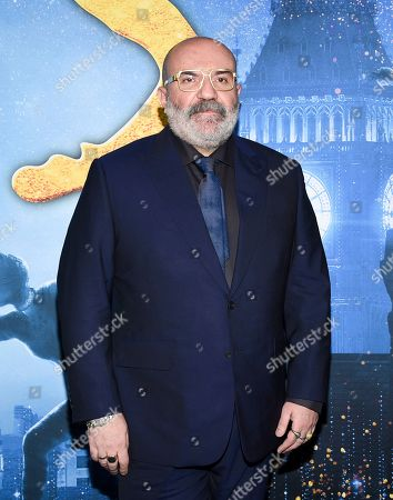 "Stock Image of Paco Delgado attends the world premiere of ""Cats"" at Alice Tully Hall, in New York"
