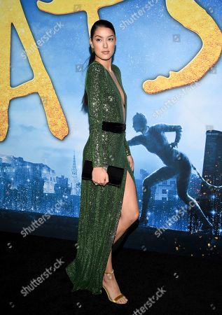 "Rebecca Mir attends the world premiere of ""Cats"" at Alice Tully Hall, in New York"