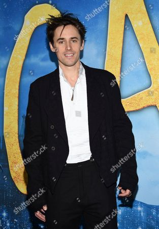 """Reeve Carney attends the world premiere of """"Cats"""" at Alice Tully Hall, in New York"""