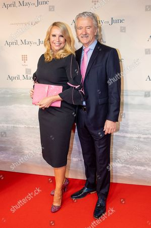 Linda de Mol and Patrick Duffy