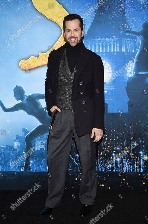 """Robert Fairchild attends the world premiere of """"Cats,"""" at Alice Tully Hall, in New York"""