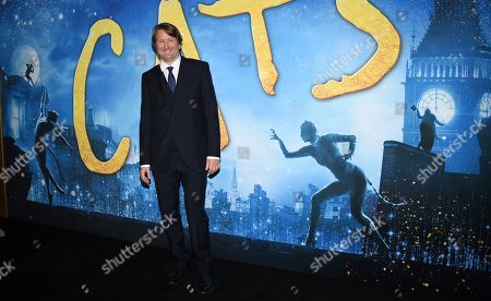 "Tom Hooper attends the world premiere of ""Cats,"" at Alice Tully Hall, in New York"