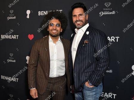 Hicham Benmbarek Sheraian and Don Diamont
