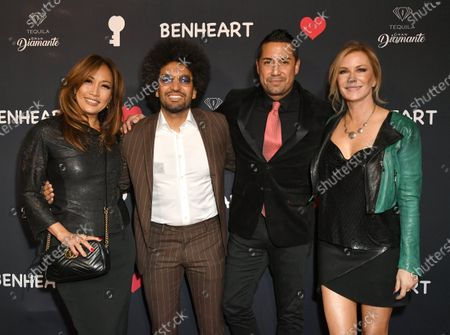Carrie Ann Inaba, Hicham Benmbarek Sheraian, Kurt Caceres and Katherine Kelly Lang