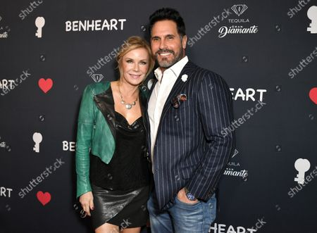 Katherine Kelly Lang and Don Diamont