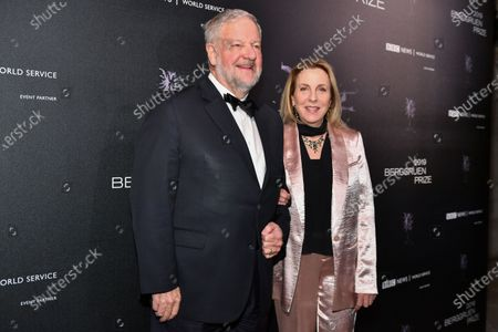 Stock Image of David Rockefeller Jr. and Susan Cohn Rockefeller