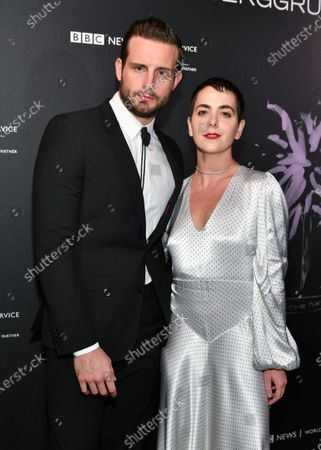 Editorial photo of Berggruen Prize for Philosophy and Culture gala, Arrivals, New York Public Library, USA - 16 Dec 2019