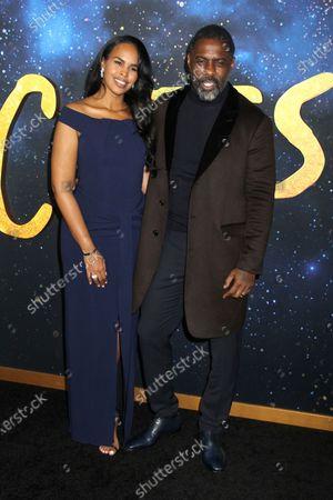Sabrina Dhowre and Idris Elba