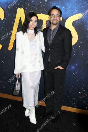 Lin-Manuel Miranda and Natalie Walker