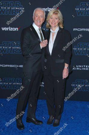 Anthony Daniels and wife Christine Savage
