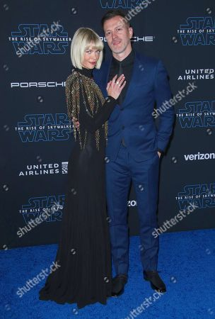 Jaime King and with husband Kyle Newman