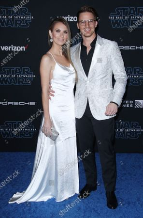 Matt Lanter and Angela Lanter