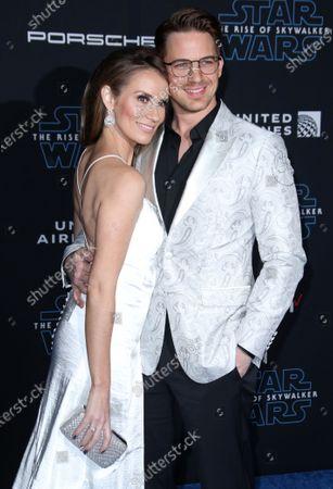 Stock Image of Matt Lanter and Angela Lanter