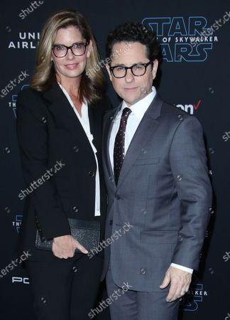 JJ Abrams and wife Katie McGrath