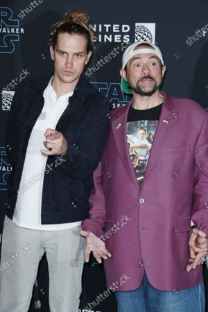 Stock Picture of Jason Mewes and Kevin Smith