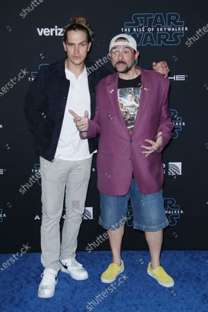 Stock Image of Jason Mewes and Kevin Smith