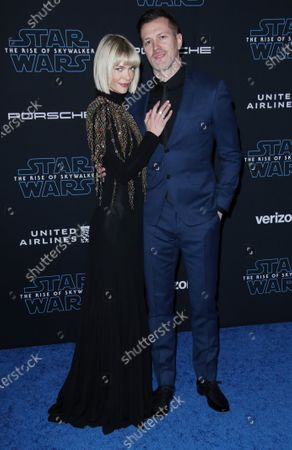 Stock Image of Jaime King and with husband Kyle Newman