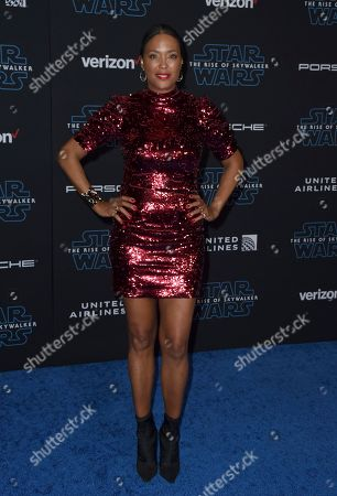 """Aisha Tyler arrives at the world premiere of """"Star Wars: The Rise of Skywalker"""", in Los Angeles"""