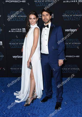 "Julieth Restrepo, Sebastian Zuleta. Julieth Restrepo, left, and Sebastian Zuleta arrive at the world premiere of ""Star Wars: The Rise of Skywalker"", in Los Angeles"