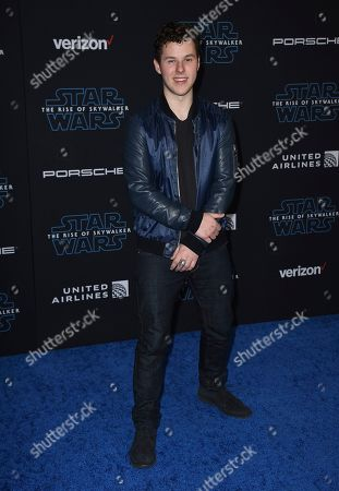 """Nolan Gould arrives at world premiere of """"Star Wars: The Rise of Skywalker"""", in Los Angeles"""