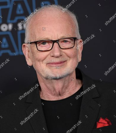 """Ian McDiarmid arrives at the world premiere of """"Star Wars: The Rise of Skywalker"""", in Los Angeles"""