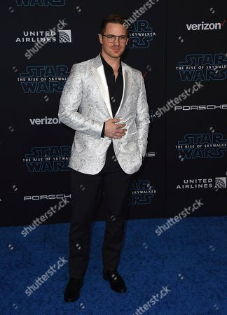 """Matt Lanter arrives at the world premiere of """"Star Wars: The Rise of Skywalker"""", in Los Angeles"""