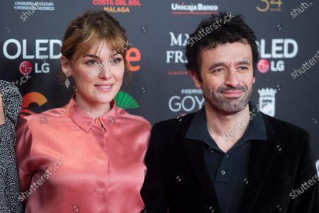 Stock Picture of Marta Nieto and Rodrigo Sorogoyen