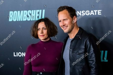 "Patrick Wilson, Dagmara Dominczyk. Dagmara Dominczyk and Patrick Wilson attend a screening of ""Bombshell"" at Jazz at Lincoln Center's Frederick P. Rose Hall, in New York"