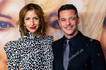 "Stock Photo of Alysia Reiner, David Alan Basche. Alysia Reiner and David Alan Basche attend a screening of ""Bombshell"" at Jazz at Lincoln Center's Frederick P. Rose Hall, in New York"
