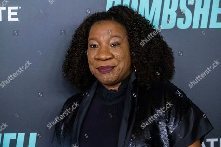 "Stock Image of Tarana Burke attends a screening of ""Bombshell"" at Jazz at Lincoln Center's Frederick P. Rose Hall, in New York"