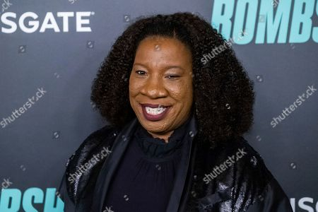 "Tarana Burke attends a screening of ""Bombshell"" at Jazz at Lincoln Center's Frederick P. Rose Hall, in New York"