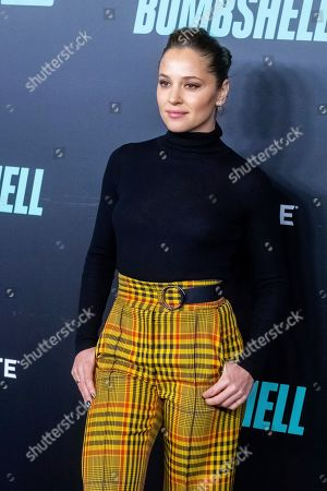 """Margarita Levieva attends a screening of """"Bombshell"""" at Jazz at Lincoln Center's Frederick P. Rose Hall, in New York"""