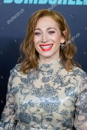 "Regina Spektor attends a screening of ""Bombshell"" at Jazz at Lincoln Center's Frederick P. Rose Hall, in New York"