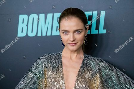 """Vlada Roslyakova attends a screening of """"Bombshell"""" at Jazz at Lincoln Center's Frederick P. Rose Hall, in New York"""