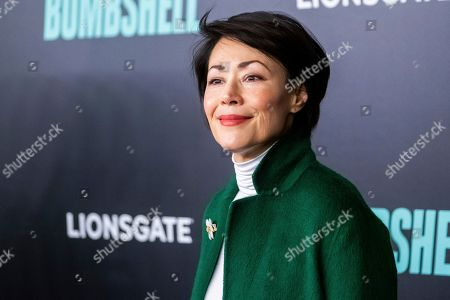 "Ann Curry attends a screening of ""Bombshell"" at Jazz at Lincoln Center's Frederick P. Rose Hall, in New York"