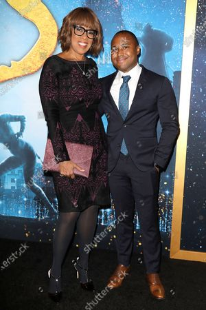 Gayle King and William Bumpus Jr.