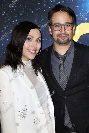 Stock Image of Lin-Manuel Miranda and Natalie Walker