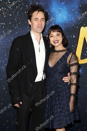 Reeve Carney and Eva Noblezada