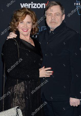 Marilou York and Mark Hamill