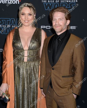 Stock Photo of Clare Grant and Seth Green