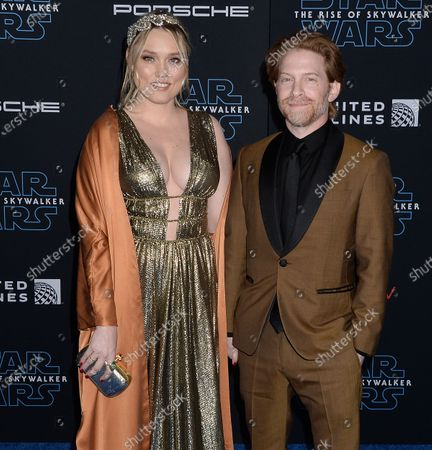 Stock Image of Clare Grant and Seth Green