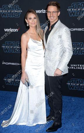 Angela Lanter and Matt Lanter